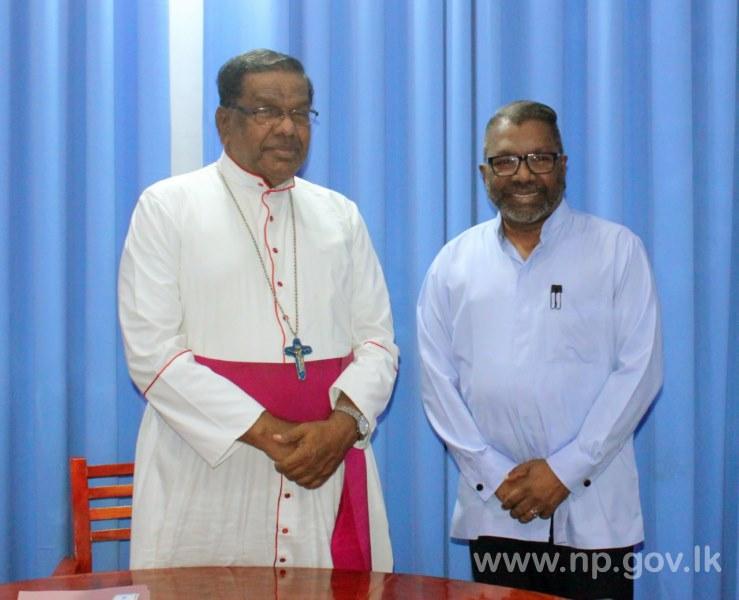 Governor met Bishop of Jaffna Diocese