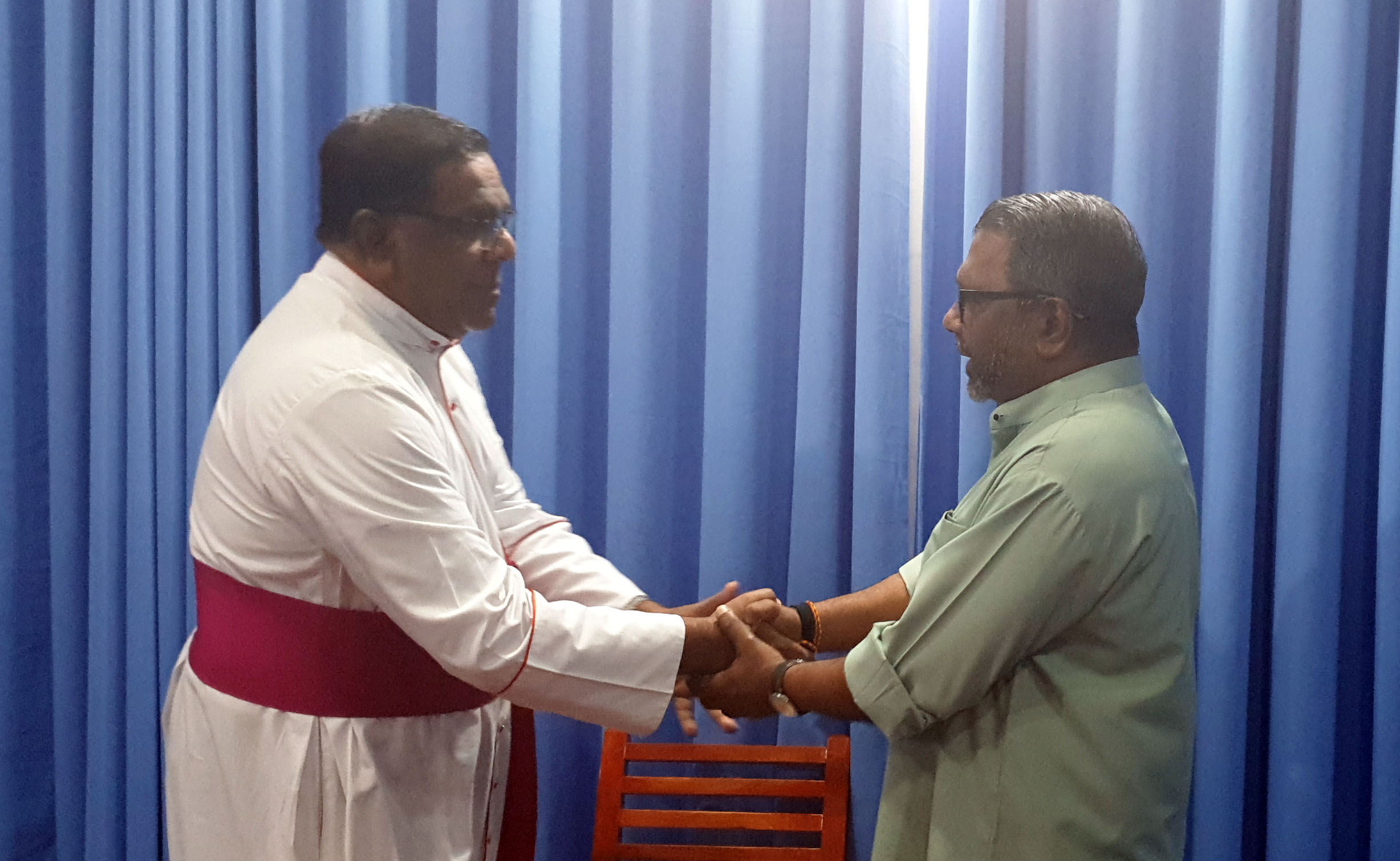 Governor met Bishop of Jaffna Diocese